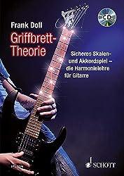 Griffbrett-Theorie: Sicheres Skalen- und Akkordspiel - die Harmonielehre für Gitarre