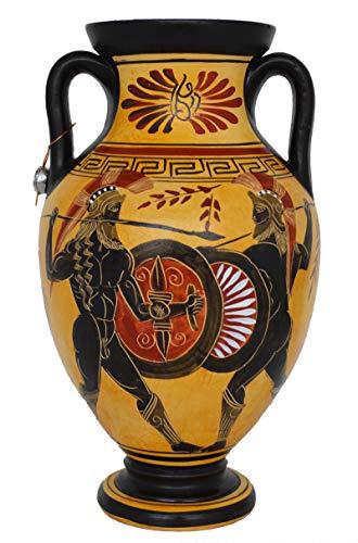 Talos Artifacts Trojan War Battle Amphora Vase Pottery - Ancient Greek Mythology - Homer