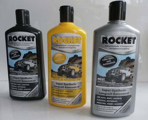 1 x Rocket Autopolitur Lotusefekt 500ml