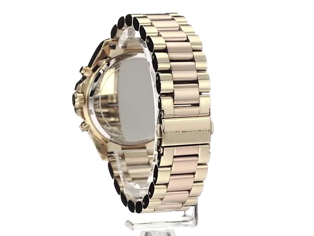 Michael Kors Women's Bradshaw Stainless Steel 43MM Chronograph Watch