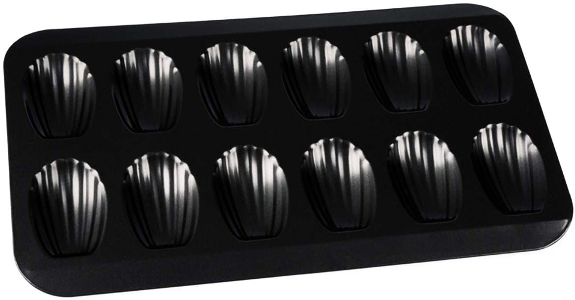 Nonstick 100% quality warranty! Madeleine Pan 12-cup Heavy Duty outlet Baking Shell Shape Cake
