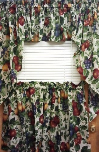 The_Curtain_Shop Sonoma Fruit Pattern Swag