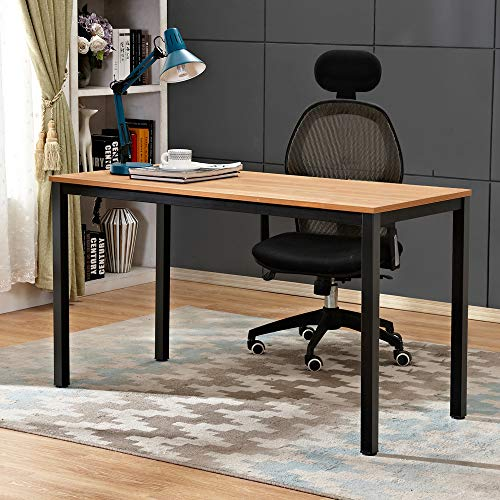 Need Computer Desk 47 inches Computer Table with BIFMA Certification Sturdy Office Meeting/Training Desk Teak AC3BB-120