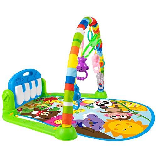 Baby Play Mat Juguete para 0-3-6-12 meses de actividad Jungle Gym Playmat con piano Newborn Infant Toy/Baby Play Mat Toys for 0-3-6-12 meses Activity Jungle Gym Playmat with Piano Newborn Infant Toy