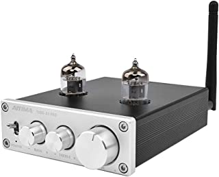 AIYIMA Audio 6J1 Tube Preamplifier Bluetooth 5.0 with Treble & Bass Adjustment DC12V HiFi Audio Preamp NE5532P Chips for H...