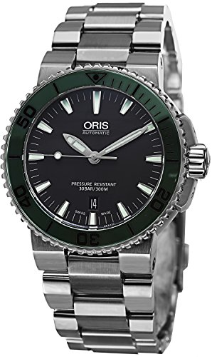 Oris Men's 73376534157MB Analog Display Swiss Automatic Silver Watch