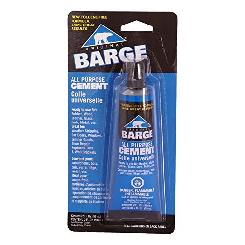 Barge All-Purpose TF Cement Rubber, Leather, Wood, Glass, Metal Glue 2 oz