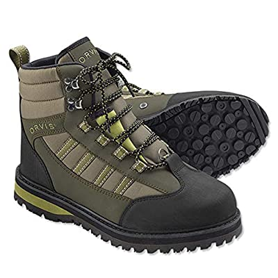 Orvis Encounter Wading Boot - Rubber/Only River Guard Encounter Boot, 10 Tan/Olive