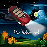 NEW Re-Wind Eco Friendly Compact Pocket Torch - Features: Wind-up Action, Rechargeable and Solar Powered, Powerful 3 LED… 4