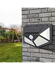 Buitenlamp op zonne-energie, wandlamp op zonne-energie, intelligente lichtdetectieregeling Hoogwaardige led-lampbron voor binnenplaats Huis Tuin Venster Parken Straatlantaarn