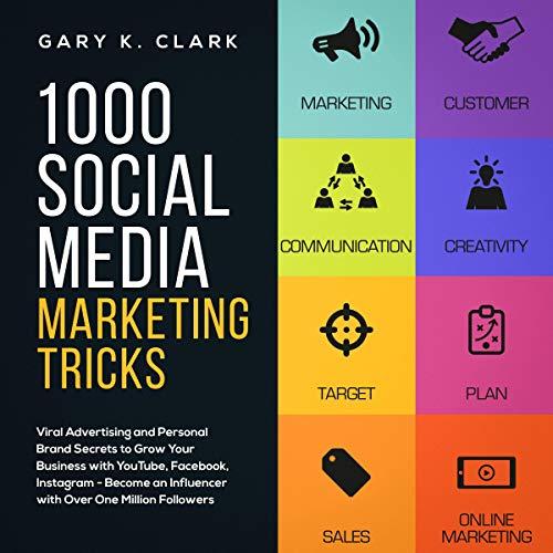 1000 Social Media Marketing Tricks in 2019 audiobook cover art
