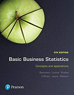 Basic Business Statistics eBook by [Mark Berenson, David Levine]
