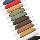 Floordirekt 15 x Teppich Stufenmatten Treppenstufen | 100% Sisal | wohnlichen Farben | rutschsicher für Mensch und Tier (Maße ca. 64 x 23,5 cm) (Natur) - 3