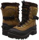 Sorel Men's Conquest Snow Boot, Bark, 10 M US