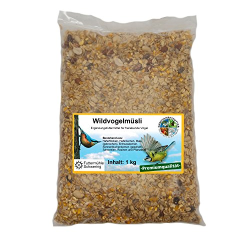Wildvogelfutter Streupaket mit 5 Sorten Futter je 1kg - 4
