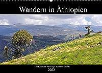 Wandern in Aethiopien (Wandkalender 2022 DIN A2 quer): Fotowanderung durch das Semien Gebirge im Norden Aethiopiens. (Monatskalender, 14 Seiten )