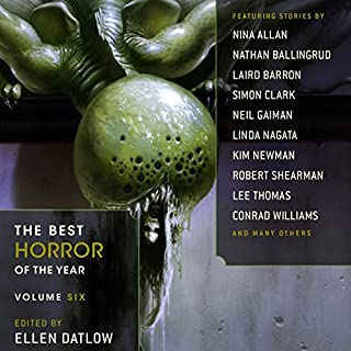The Best Horror of the Year, Volume Six cover art