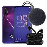 Foto Huawei Nova 5T (Purple) Smartphone + Speaker Bluetooth + FreeBuds Lite Cuffie Auricolare, Nero
