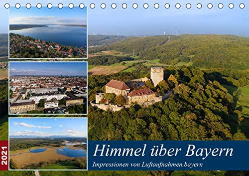 Himmel über Bayern (Tischkalender 2021 DIN A5 quer)