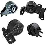 MaxBene Fits: 1994-1996 Mazda MX-3 1.6L Motor & Trans Mount Kit 4PCS Compatible with Manual Transmission 94 95 96 A2648 A2651 A2650 A6432