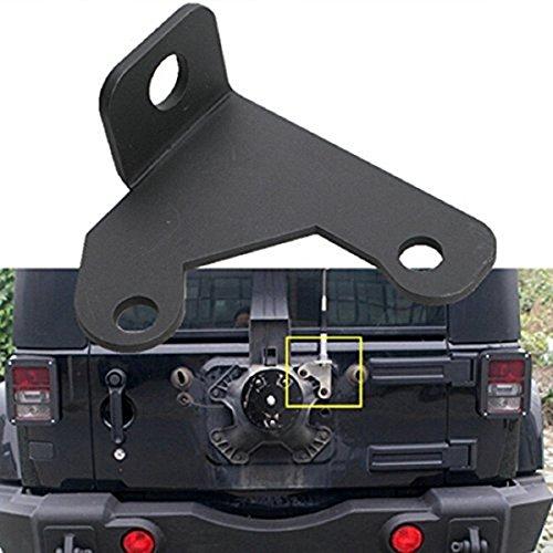 u-Box CB Antenna Spare Tire Mount for 2007-2018 Jeep Wrangler JK & JKU Unlimited