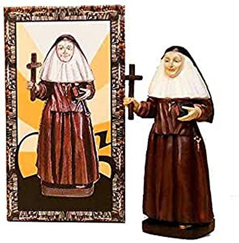 Trofeos Cadenas | SOR Ángela de la Cruz. Figura Religiosa, en Resina, de 20 cm con Caja Decorada.