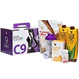 Forever Living Clean - 9 packs, programa para pérdida de peso, vainilla ultra con aminotein