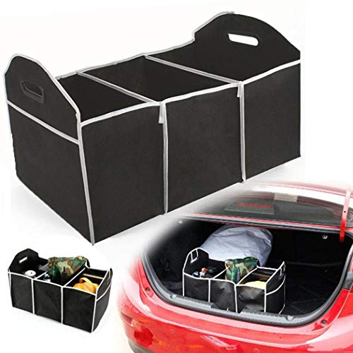 Ouyilu Durable Portable Folding Multifunctional Car Trunk Storage Box Shelf Baskets