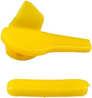 figatia Conjunto de 2 protetores de aro sem arame, 53 mm, almofada removedora de cabeça de pássaro