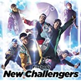フィッシャーズ/New Challengers (初回限定盤)(トレーディングカード(8種類の内1種)封入)