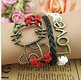 HMShun Bracelet de Boutique comme Le Choix pour Un Cadeau d'anniversaire/Cadeau commémoratif/Cadeau de Valentine, etc.-Q7