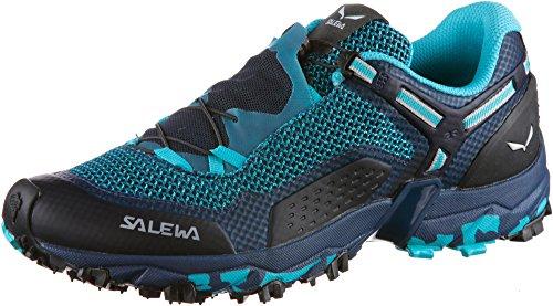 Salewa MS Mountain Trainer, Chaussures de trekking et de randonnée Homme, Bleu (Ombre Blue/Tender Shot), 39 EU