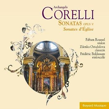 Corelli: Sonatas Opus V (Sonates d'Église)