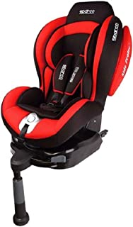 Sparco F500i Isofix Child Seat, Red, 9-18 kg