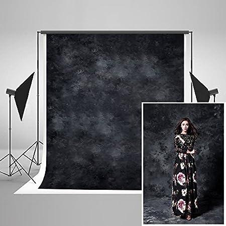 Katehome Photostudios 1 5x2 2m Schwarz Foto Hintergrund Kamera