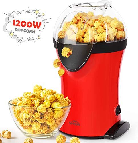 SIMBR Machine à Popcorn Electrique 1200W,Appareils à...