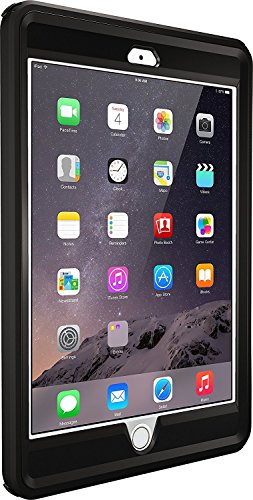 OtterBox Rugged Protection Defender Series Case for iPad Mini 1/2/3 - Bulk Packaging - Black
