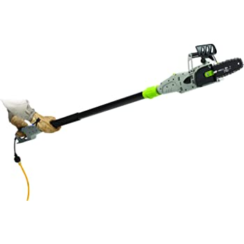 Earthwise CVPS41008 8-Inch 6-Amp Corded Electric 2-in-1 Convertible Chain Saw/Pole Saw