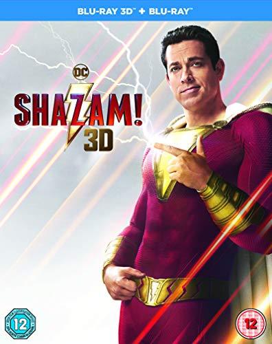 Shazam! [Blu-ray 3D] [2019] [Region Free]