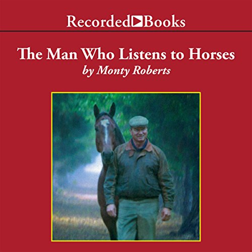 The Man Who Listens to Horses audiobook cover art