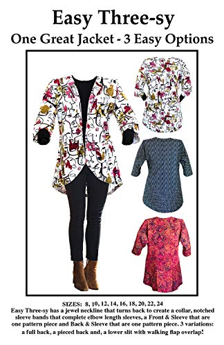 CNT Pattern Co Easy Three-sy Jacket pattern