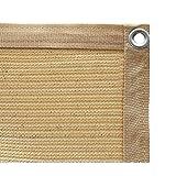 Sun Shade Sail Garden White Impermeable UV Sun Pantalla Protectora Solter Toldo Gazebo Canopy Pérgola Patio Al Aire Libre Interior Rectangular, Canopy Parasol Terraza(Size:1.5x2m)