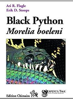 black python morelia boeleni