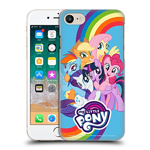 Head Case Designs Officially Licensed My Little Pony Group Character Art Hard Back Case Compatible with Apple iPhone 7 / iPhone 8 / iPhone SE 2020