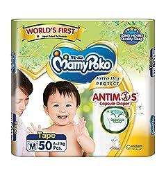 MamyPoko Extra Dry Anti-Mosquito Tape, M, 50 Count
