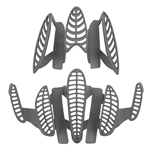 Kask Fahrradhelm Zubehör Anti-Insect Grid Dieci, Titanium, One Size