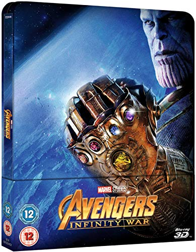 Avengers: Infinity War 3D Limited Edition Steelbook / Import / Includes 2D Region Free Blu Ray