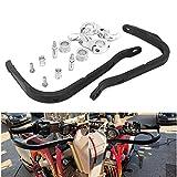 Protectores de Mano Motocicleta Universal 22 mm 28 mm Manillar Cepillo de Mano Protector de protección para Dirt Bike Motocross Enduro ATV Pit Bike