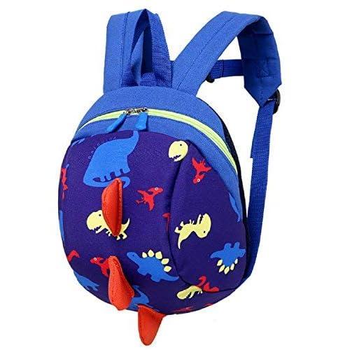 Preschool Toddler Backpack Waterproof Kids Cute Animal Zoo Cartoon Design Kindergarten Bag for Boys and Girls Navy Mouse