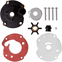 Createshao Outboard Water Pump Impeller Repair Kits for Johnson Evinrude Replacement 763758 5.5, 7.5 1954-1964 & 6 HP 1965-1979